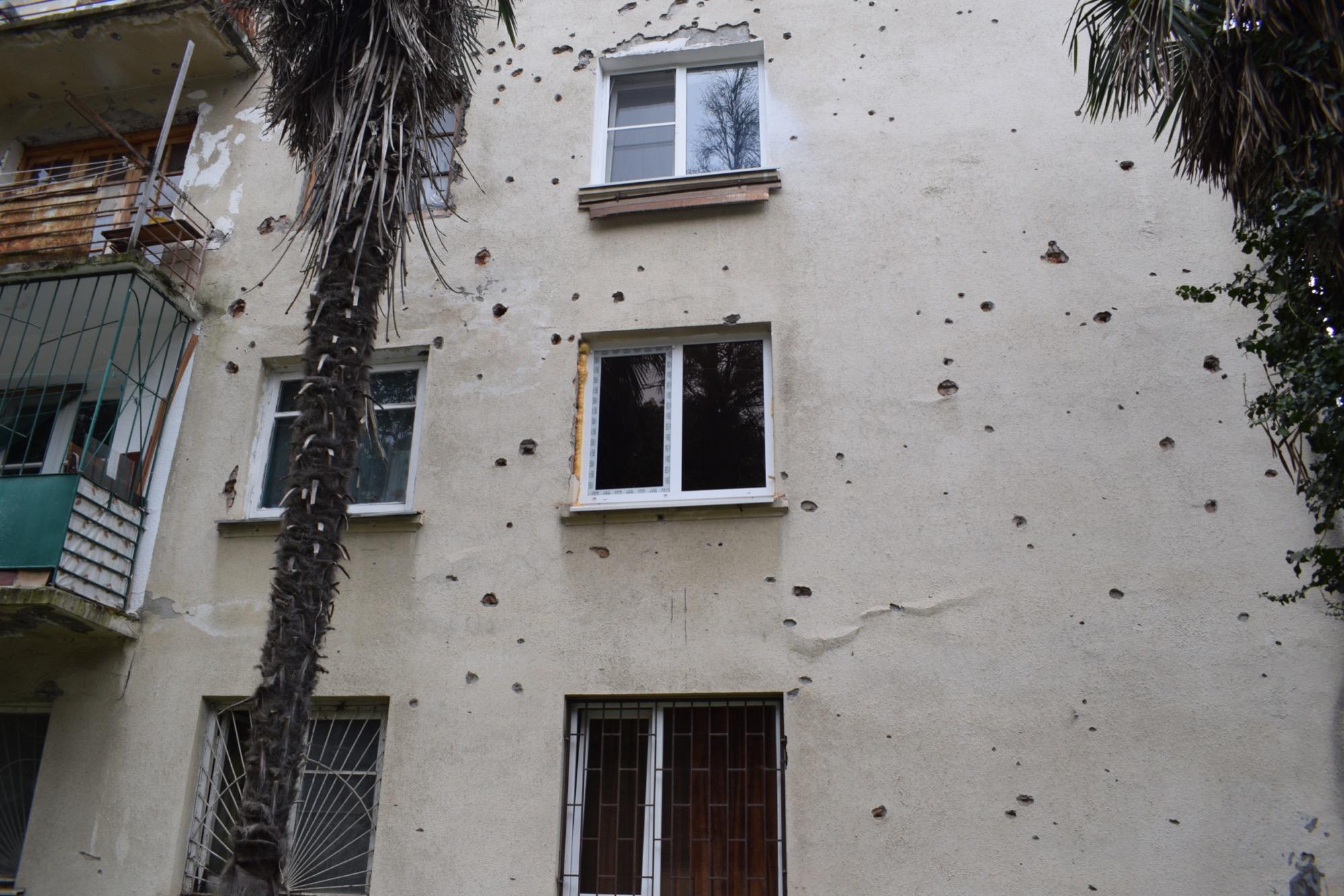 holes from bullets.JPG bneGeneric Russia Abkhazia Filip Brokes 5